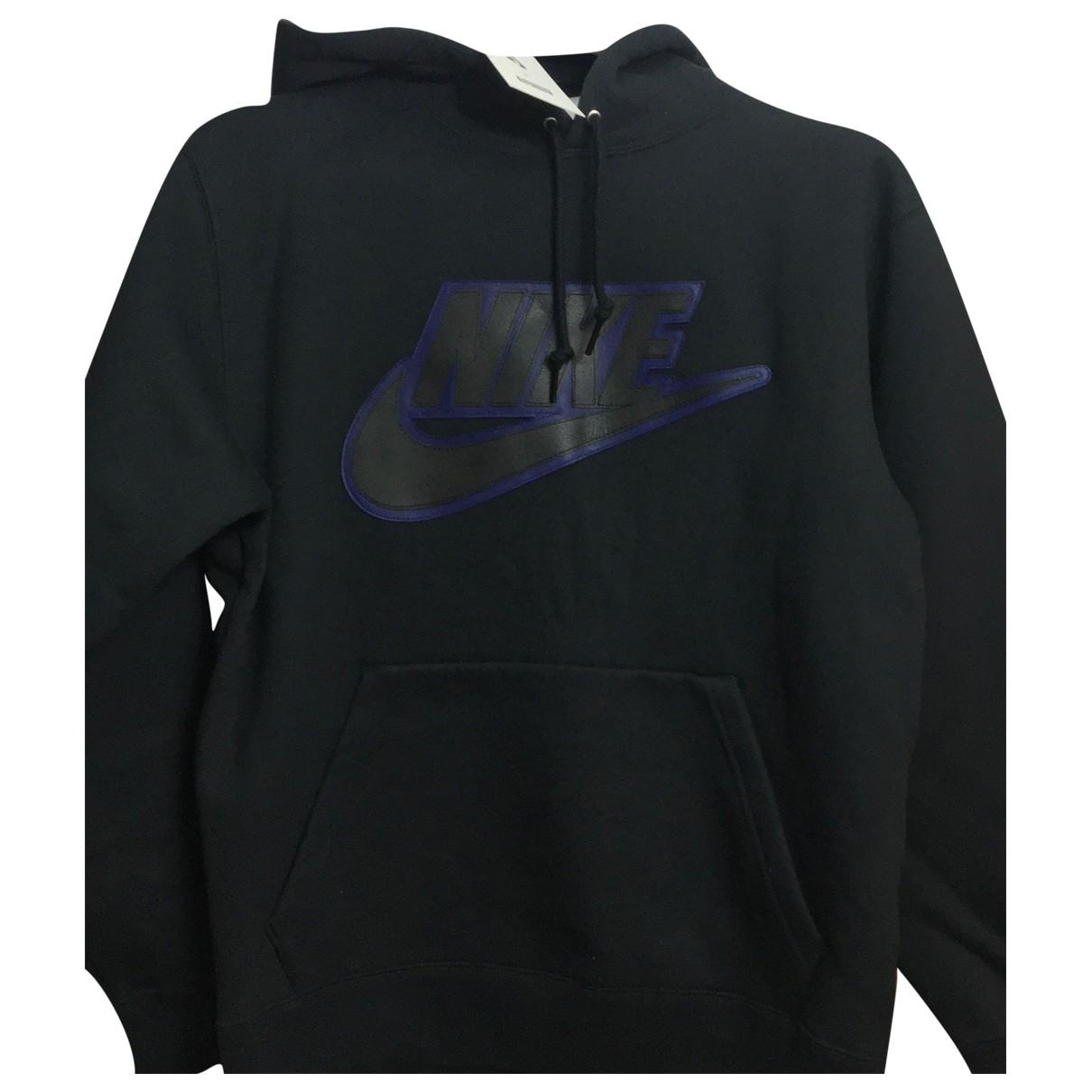 Nike X Supreme - Pulls.Gilets.Sweats   pour homme en coton - noir