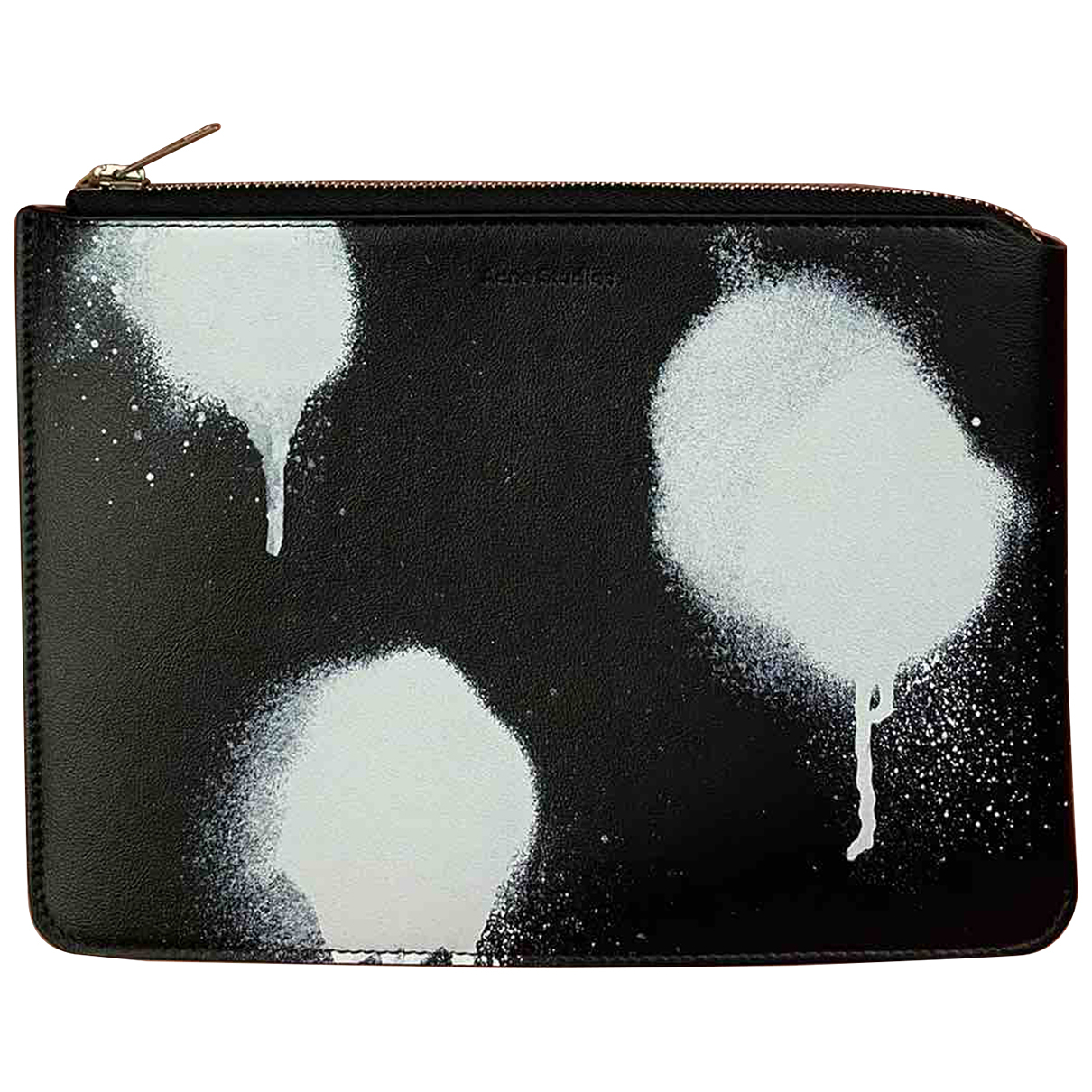 Acne Studios N Black Leather Purses, wallet & cases for Women N