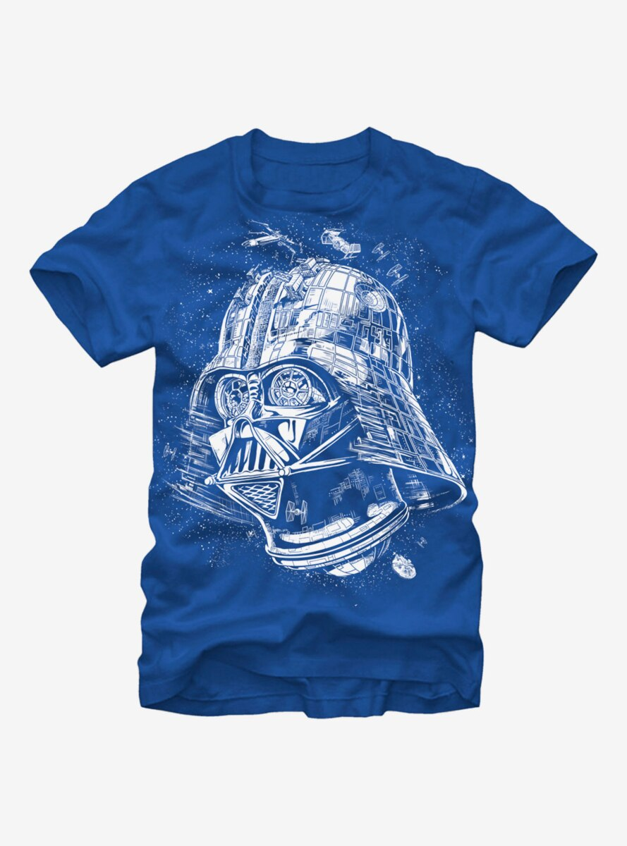 Star Wars Darth Vader Death Star T-Shirt