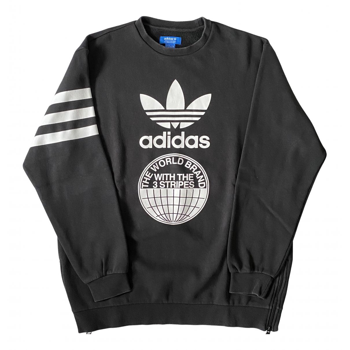 Adidas - Pulls.Gilets.Sweats   pour homme en coton - noir