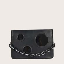 Bolsa cartera de niñas con patron redondo