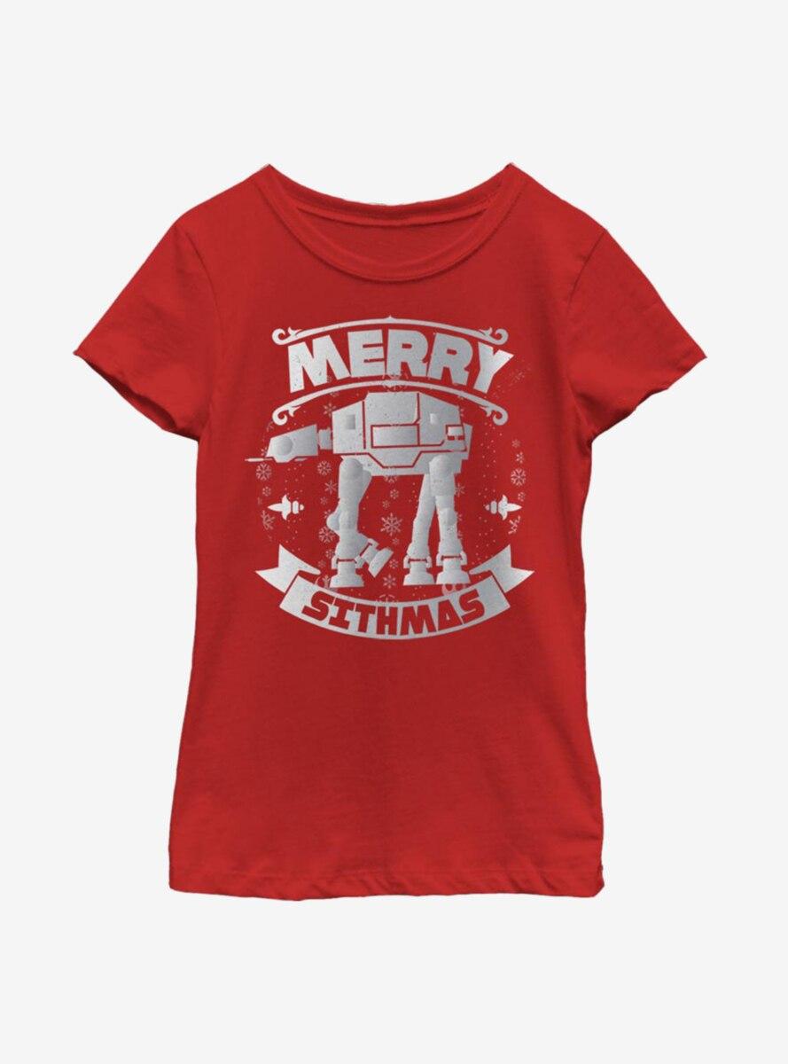 Star Wars AT-AT Sithmas Youth Girls T-Shirt