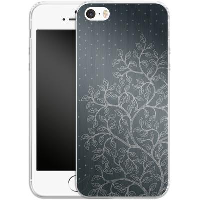 Apple iPhone 5 Silikon Handyhuelle - Tree von Daniel Martin Diaz
