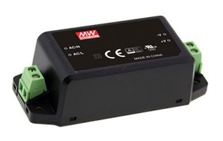 Mean Well , 30W Encapsulated Switch Mode Power Supply, 5V dc, Encapsulated
