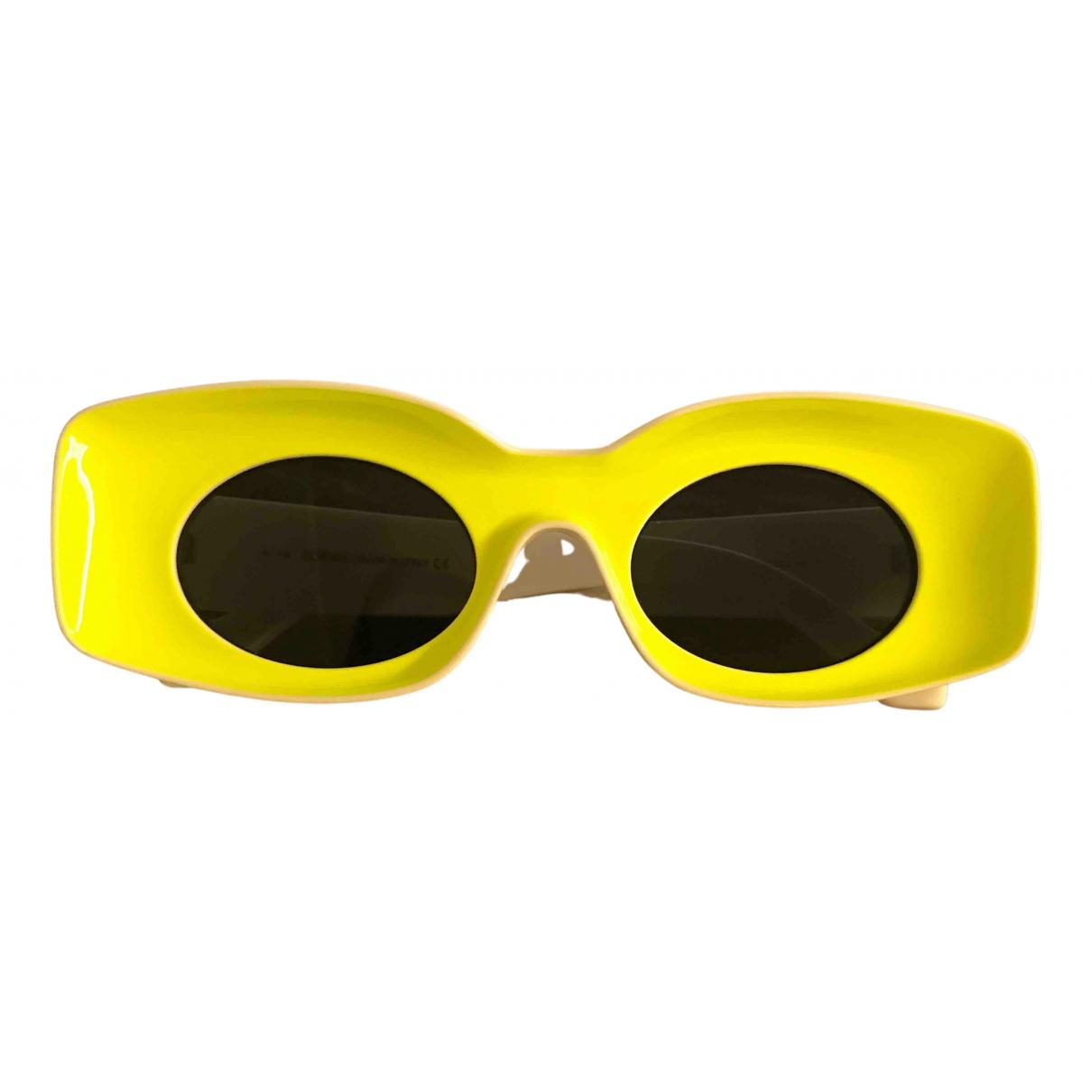 Loewe - Lunettes   pour femme - jaune