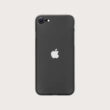 1pc Minimalist iPhone Case