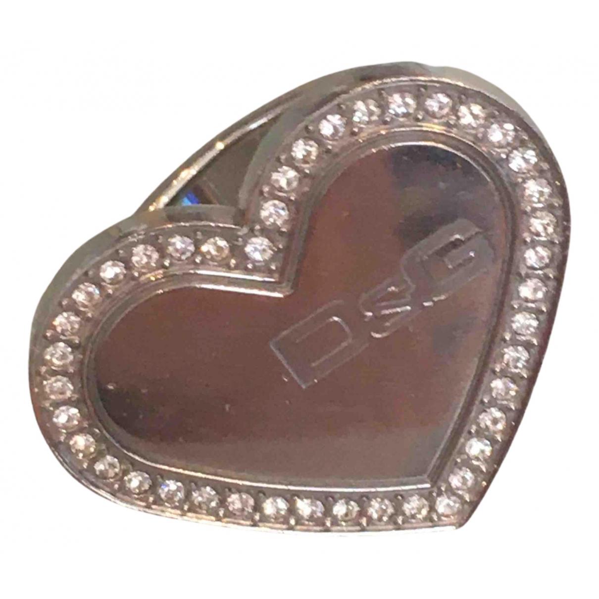 D&g - Bague   pour femme en metal - argente