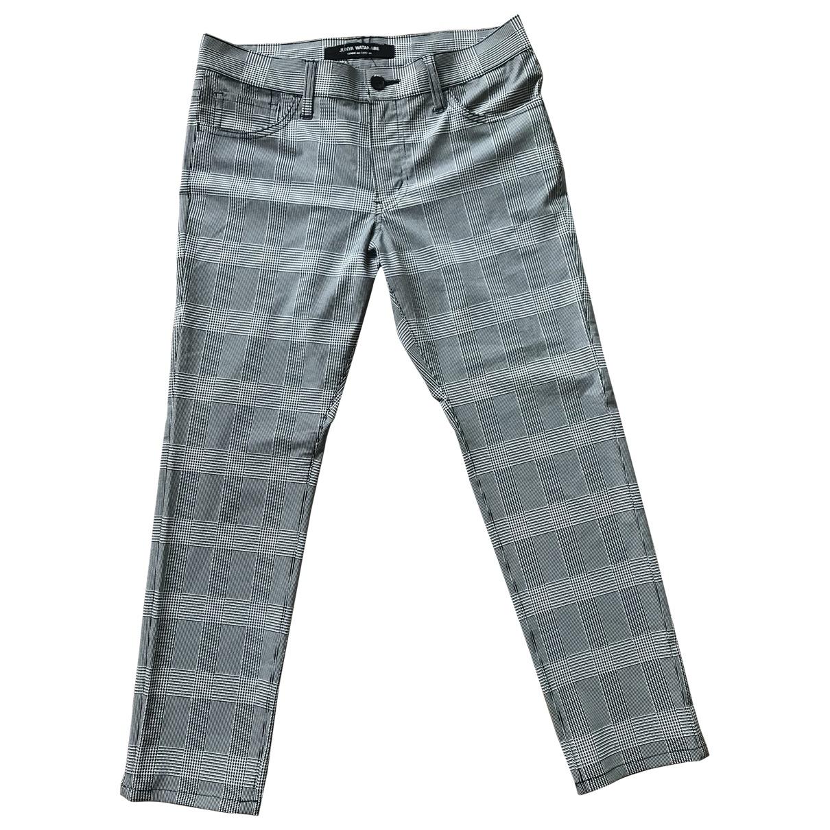 Junya Watanabe \N Grey Trousers for Women S International