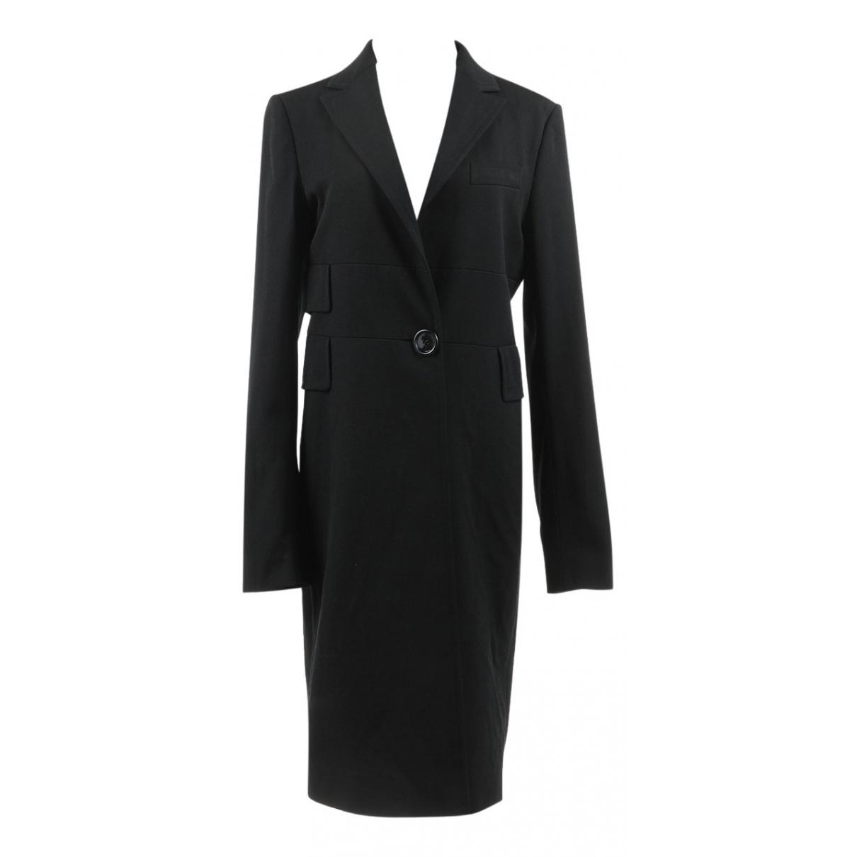 Costume National - Manteau   pour femme en laine - noir