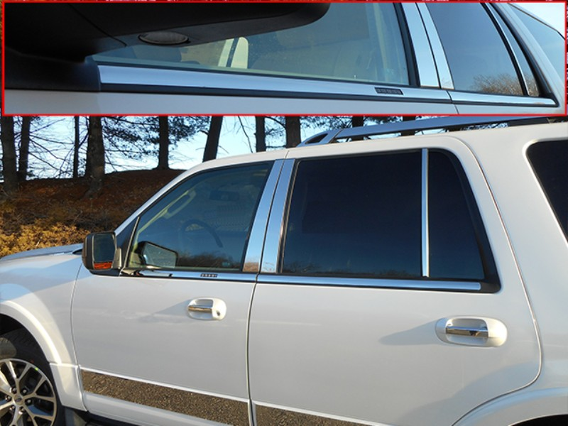 Quality Automotive Accessories Window Sill Trim Set Ford Expedition SUV 08-17