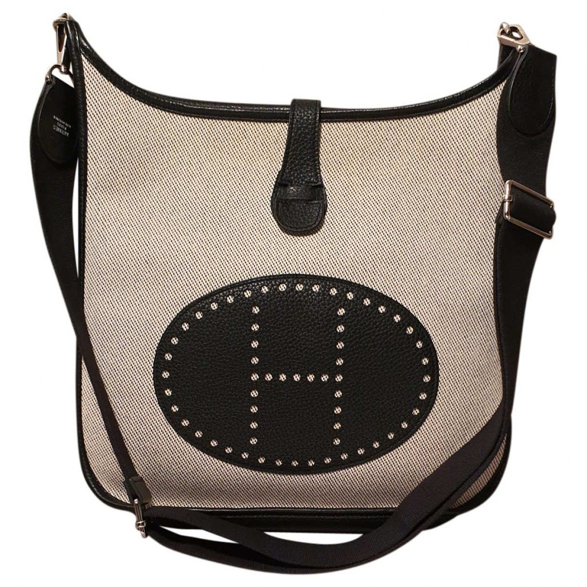 Hermès Evelyne Ecru Cloth handbag for Women \N