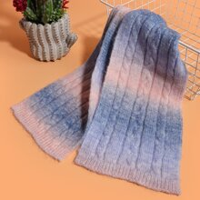 Ombre Pattern Scarf