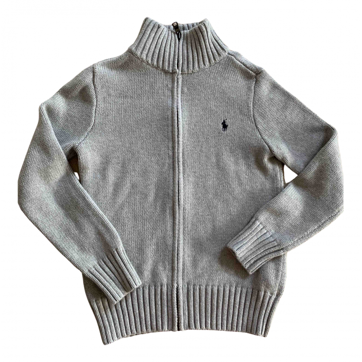 Polo Ralph Lauren N Grey Cotton Knitwear for Kids 8 years - until 50 inches UK