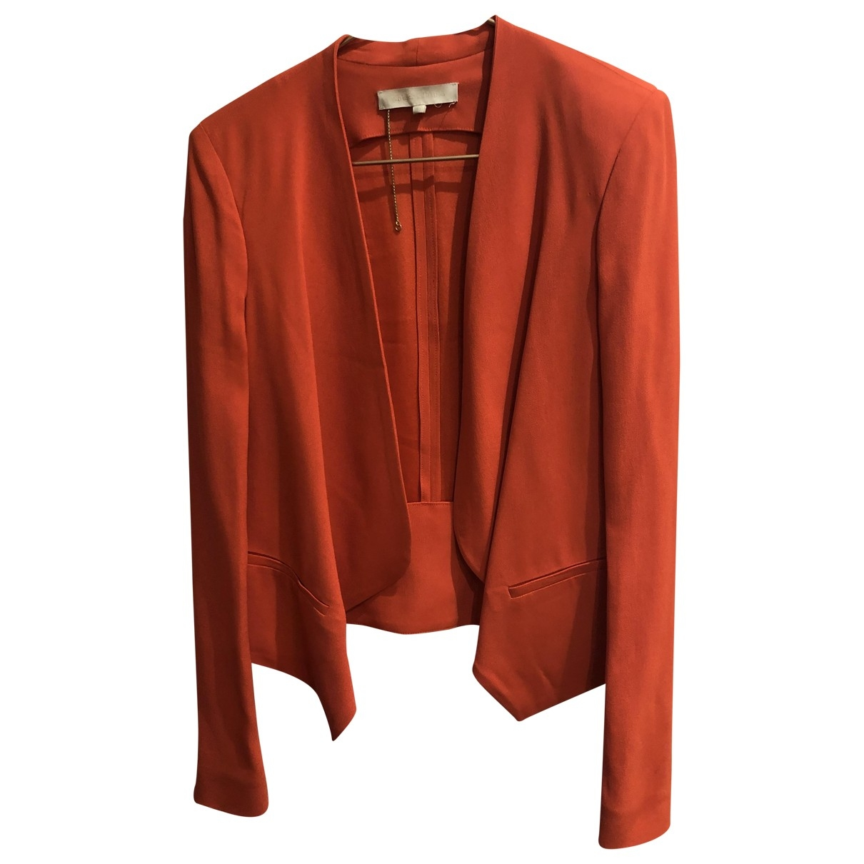 Vanessa Bruno \N Orange jacket for Women 40 FR