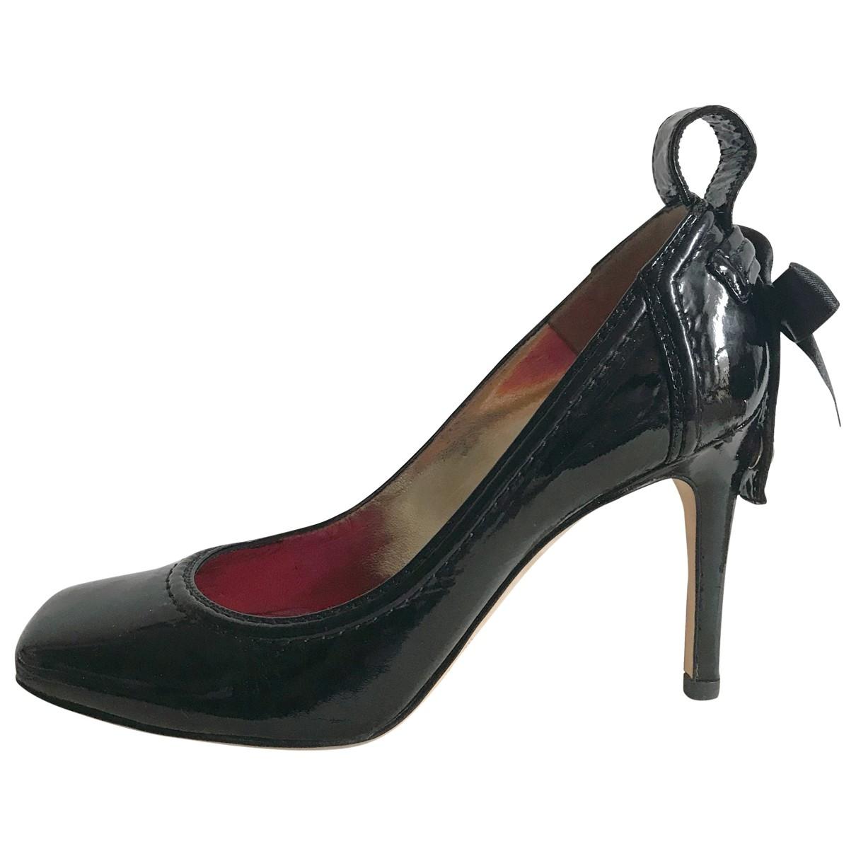 Dsquared2 - Escarpins   pour femme en cuir verni - noir