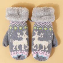 Animal Pattern Gloves
