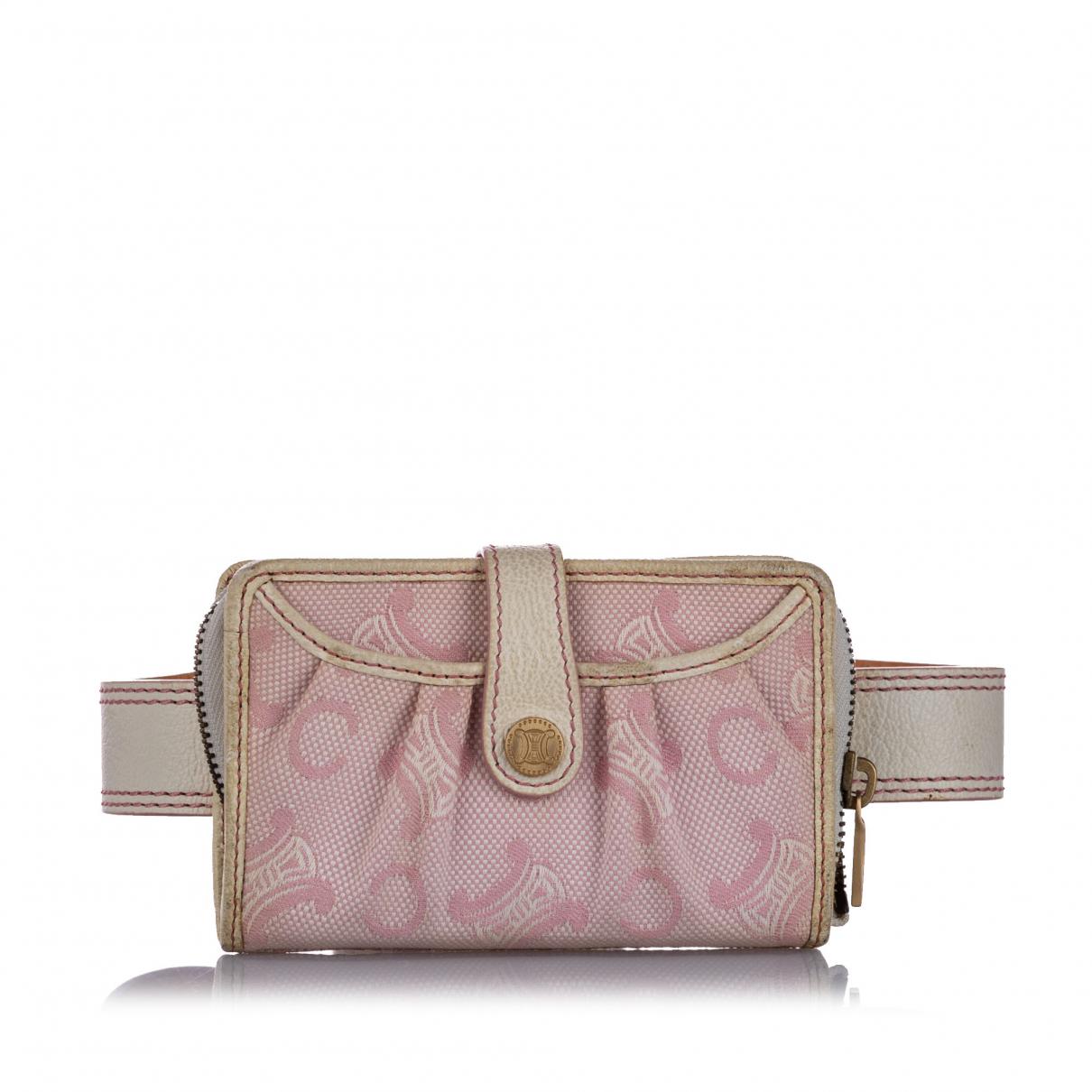 Celine N Pink Cloth Belt bag for Men N