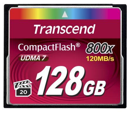 Transcend CompactFlash 128 GB MLC Compact Flash Card