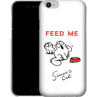 Apple iPhone 6s Plus Smartphone Huelle - Feed Me von Simons Cat
