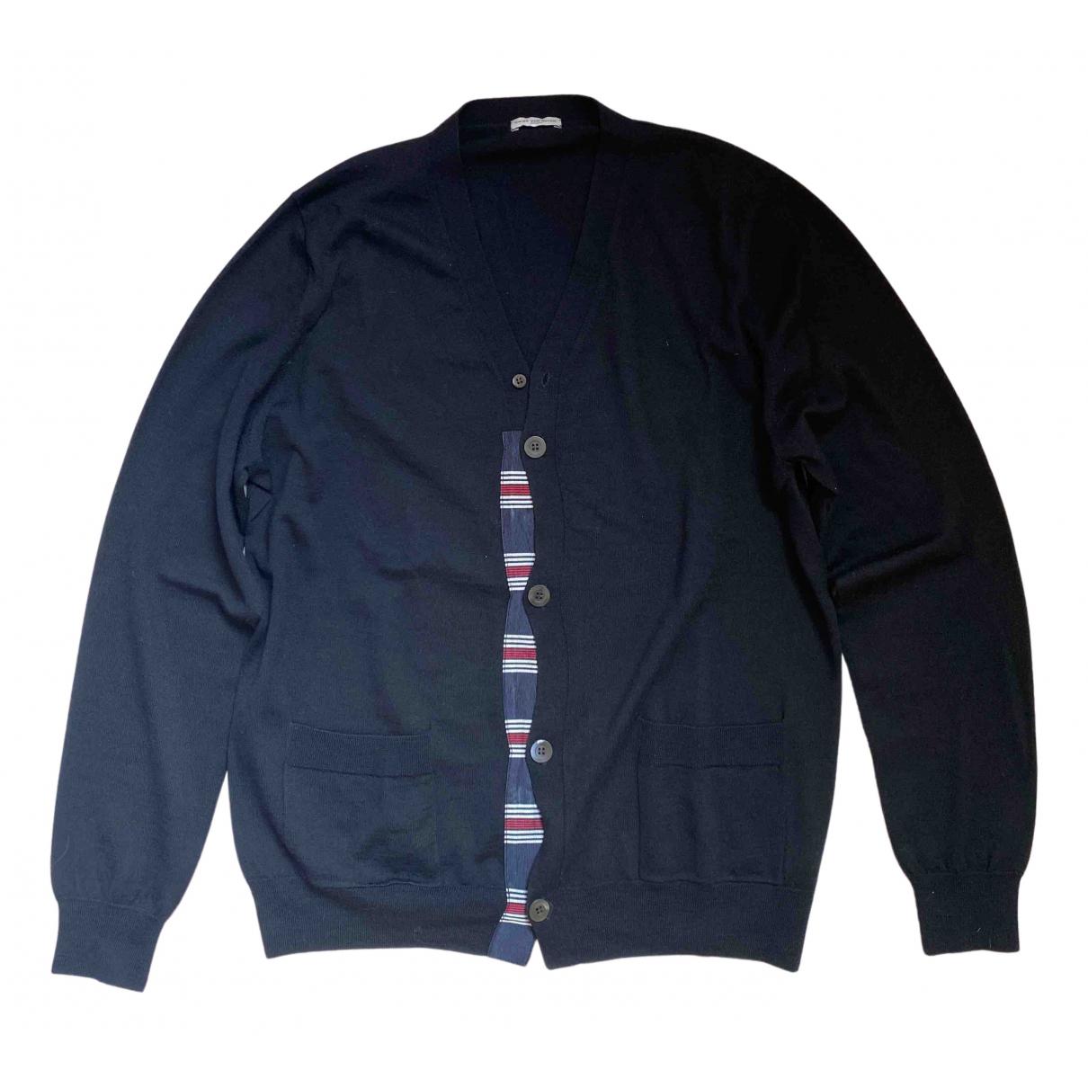 Dries Van Noten \N Pullover.Westen.Sweatshirts  in  Schwarz Wolle