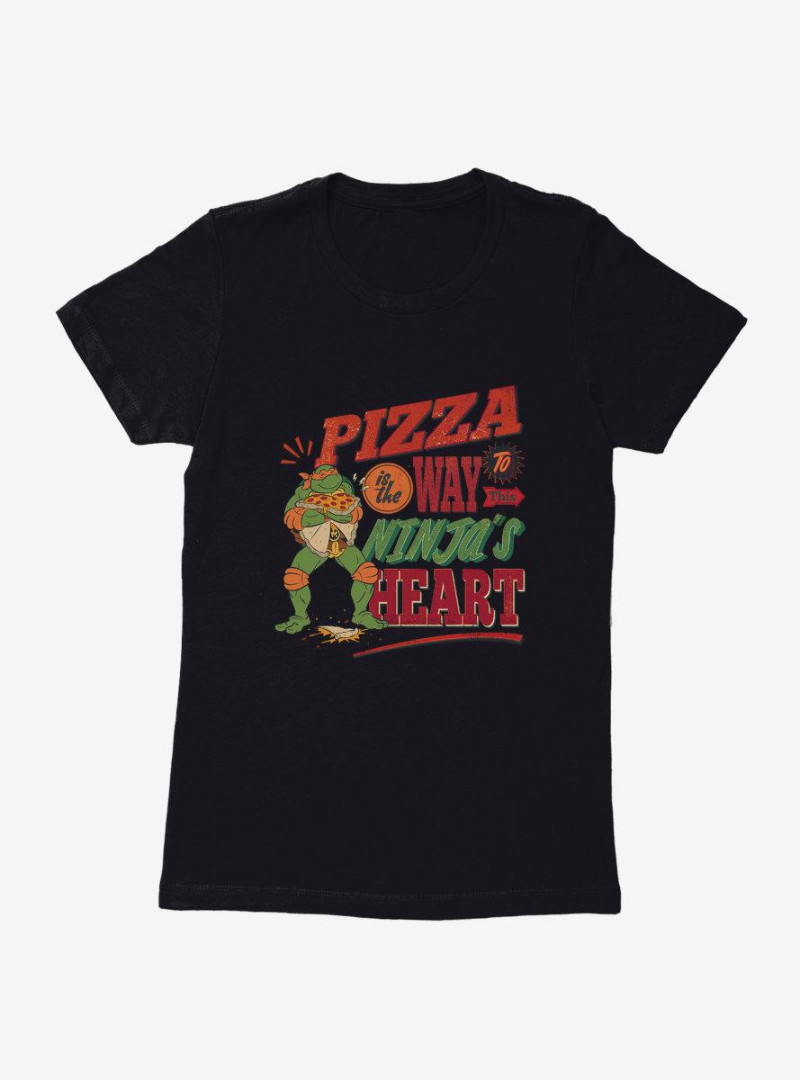 Teenage Mutant Ninja Turtles Ninja Heart Womens T-Shirt