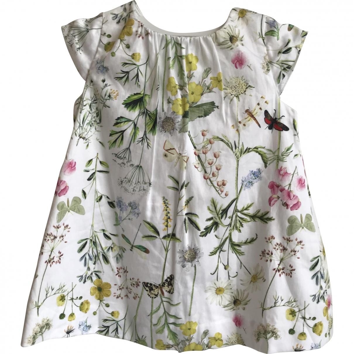Zara - Robe    pour enfant en coton - multicolore