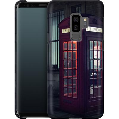 Samsung Galaxy S9 Plus Smartphone Huelle - London Calling 2 von Ronya Galka