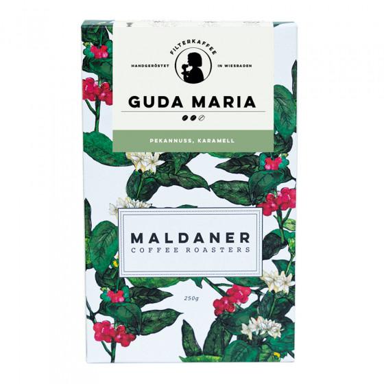Kaffeebohnen Maldaner Kaffeerosterei Filter Guda Maria, 250g