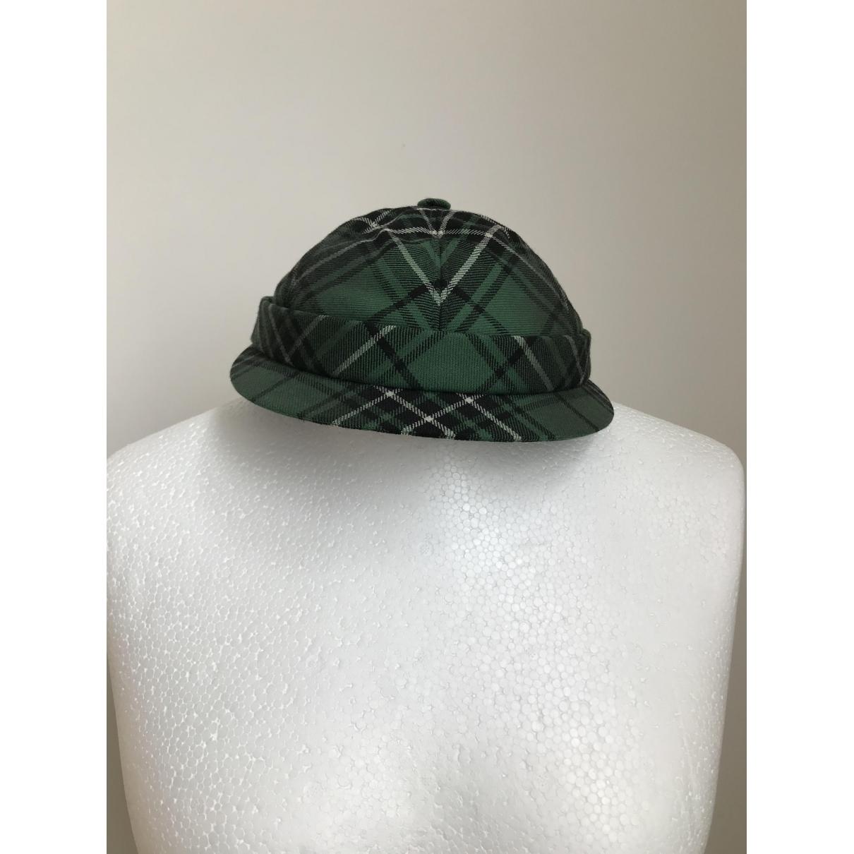 Bottega Veneta - Chapeau   pour femme en laine - vert