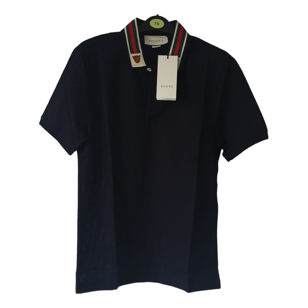 Gucci \N Blue Cotton Polo shirts for Men S International