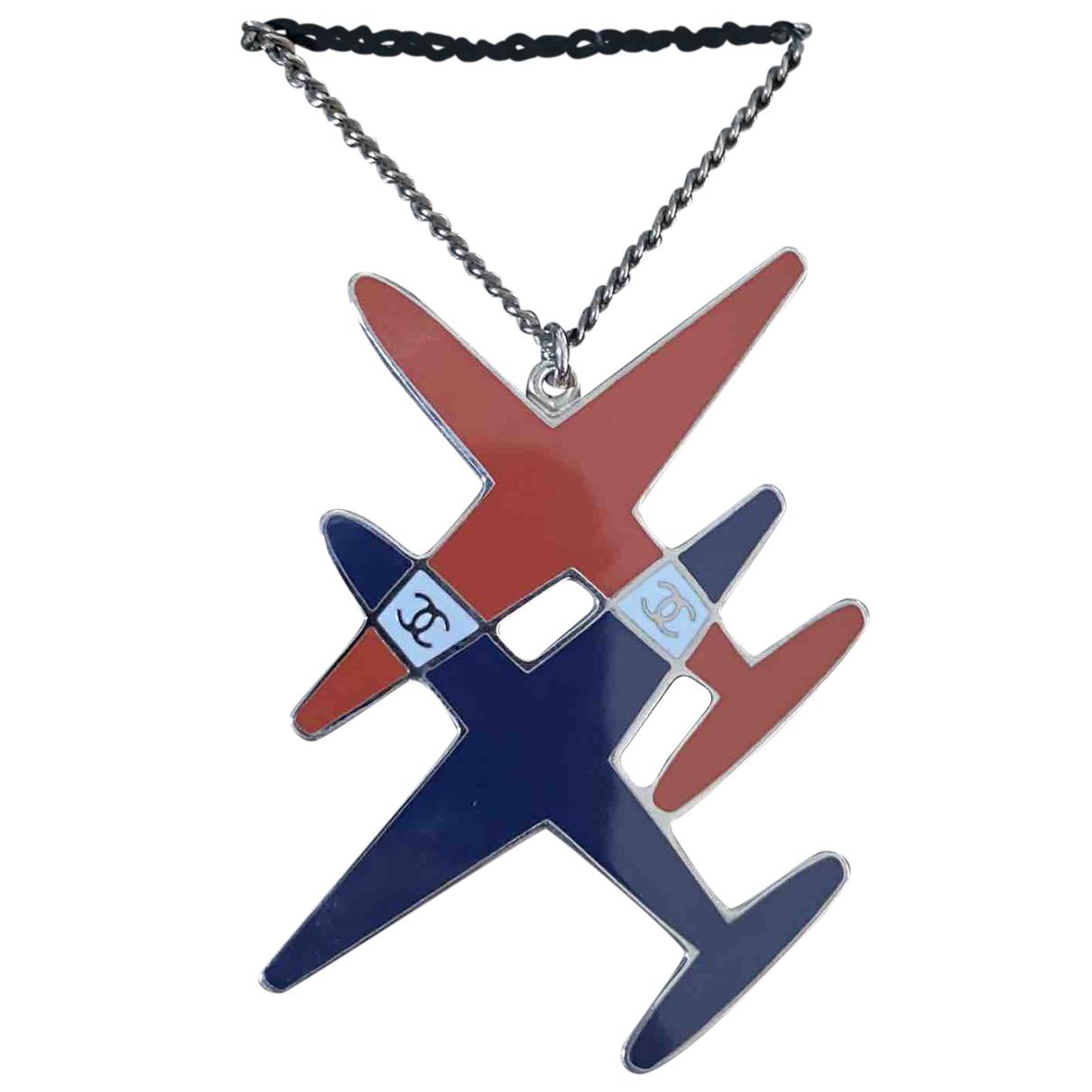 Chanel - Broche CHANEL pour femme en metal - bleu