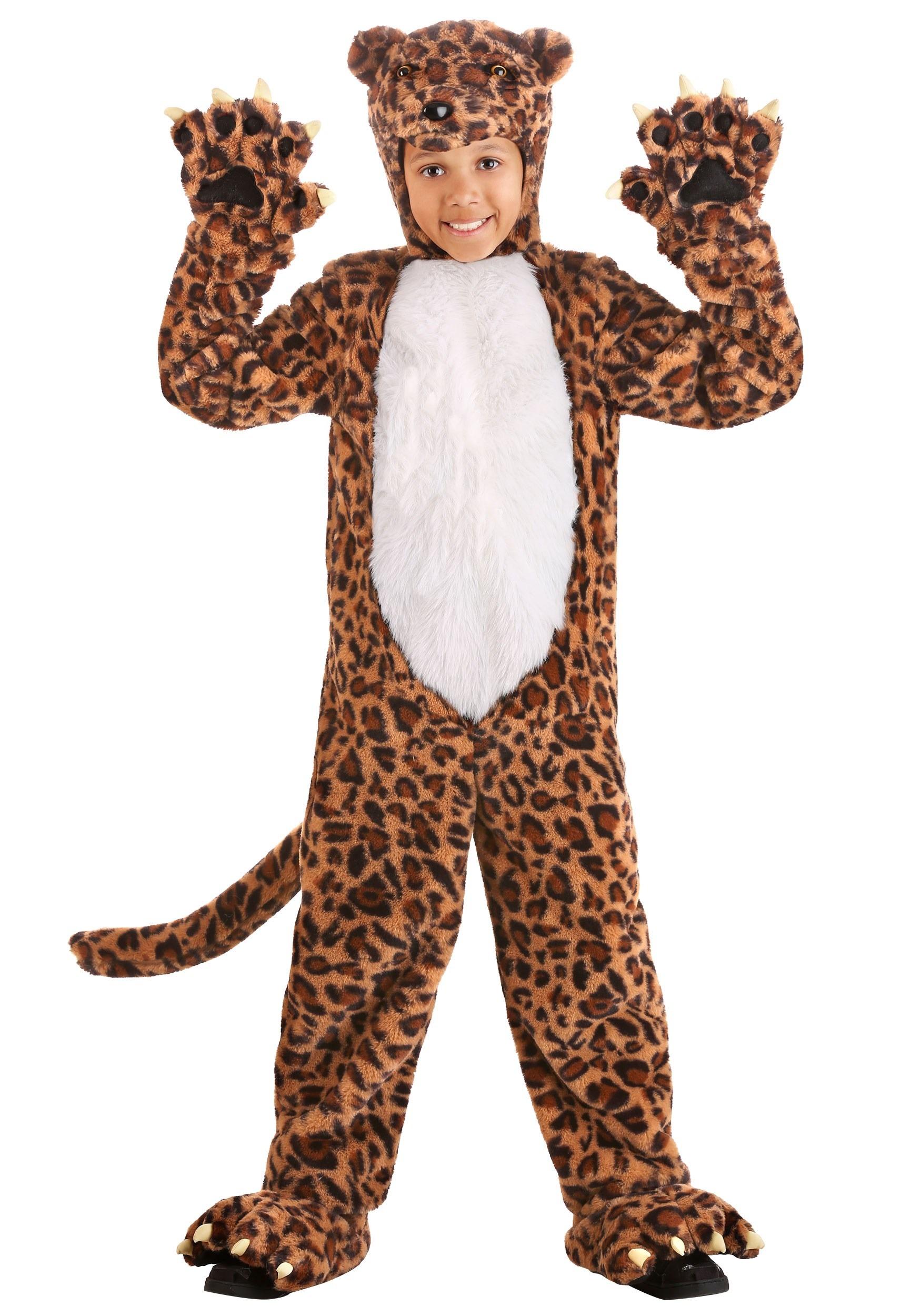 Leapin' Leopard Child's Costume