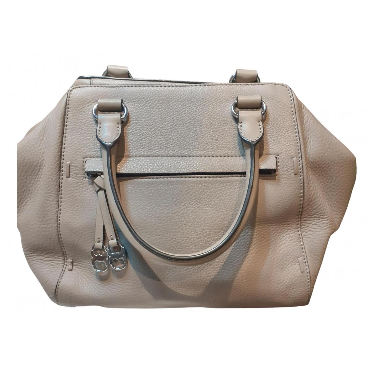 Tory Burch \N Handtasche in  Grau Leder