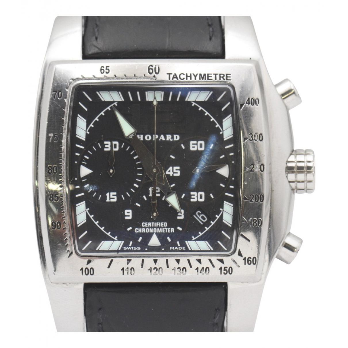 Chopard \N Uhr in  Silber Stahl