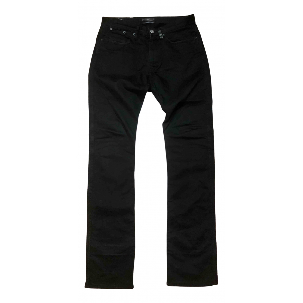 Stone Island \N Black Cotton Jeans for Men 30 US