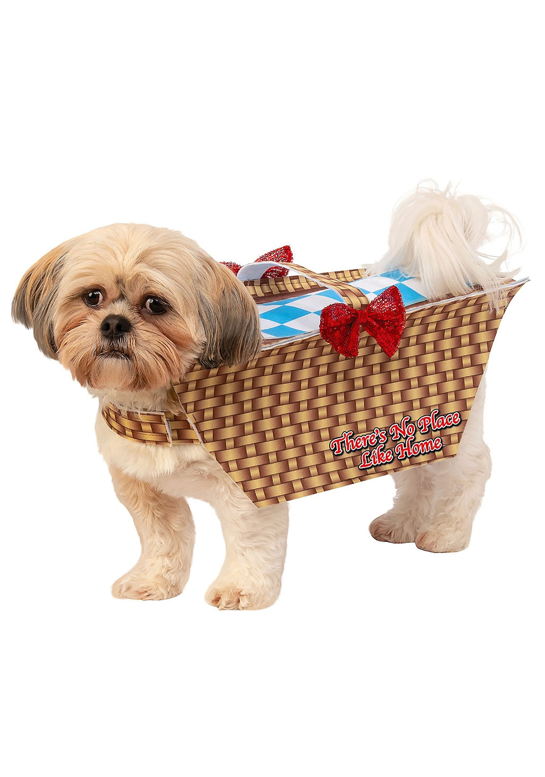 Dog Wizard of Oz Toto in Basket Costume