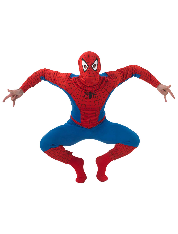 Herren-Kostuem Spiderman Marvel Erwachsene XL Grosse: XL
