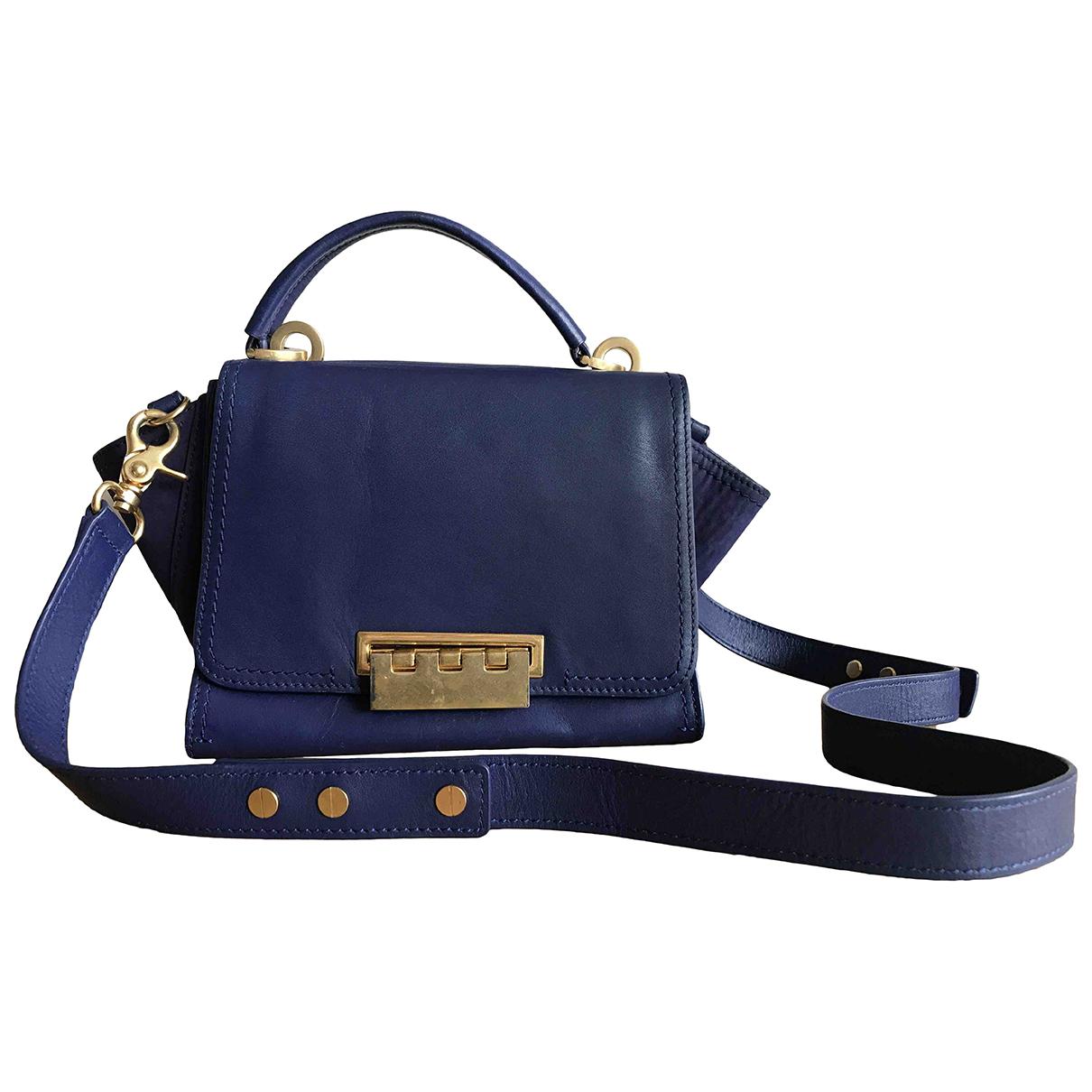 Zac Posen N Blue Leather handbag for Women N