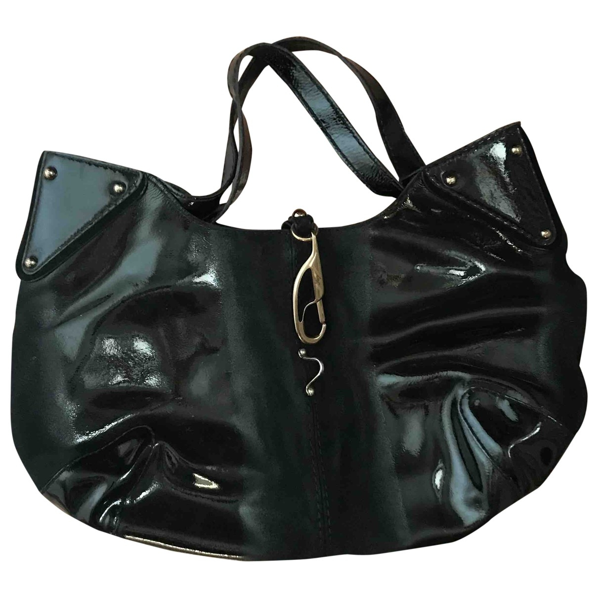 Fay \N Black Leather handbag for Women \N