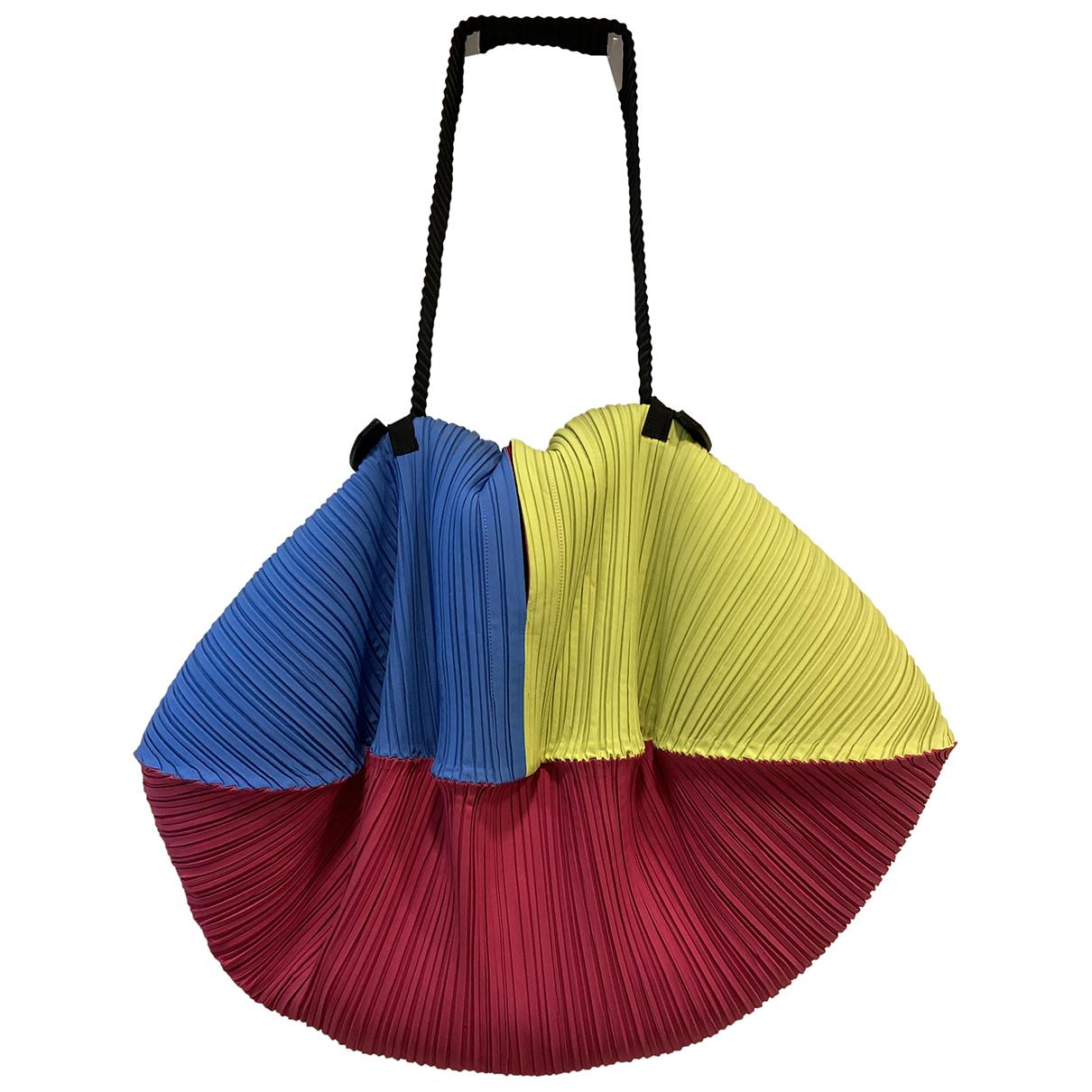 Pleats Please - Sac de voyage   pour femme - multicolore