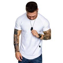 T-Shirt mit Ruesche, Raglanaermeln und Flicken