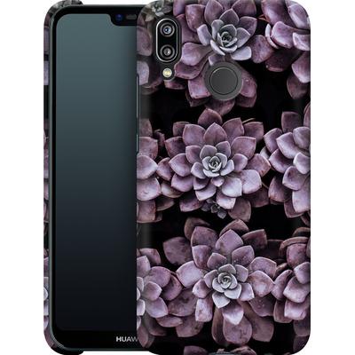 Huawei P20 Lite Smartphone Huelle - Purple Succulents von caseable Designs