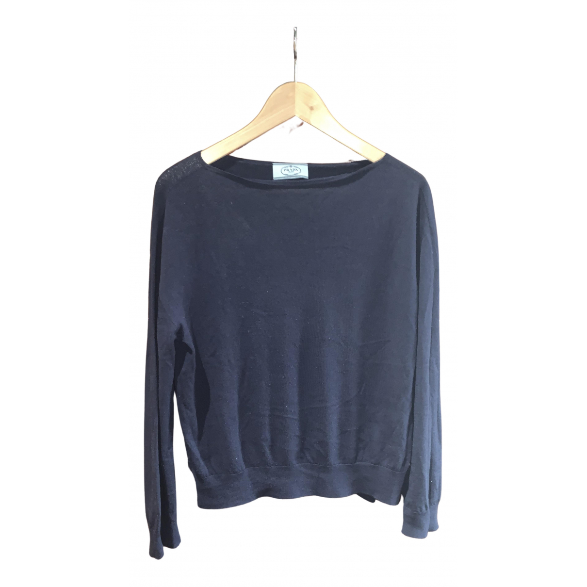 Prada \N Navy Cashmere Knitwear for Women M International