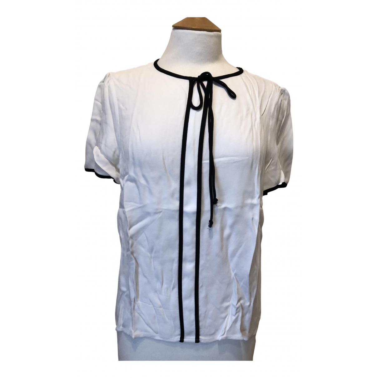 Zara - Top   pour femme - blanc