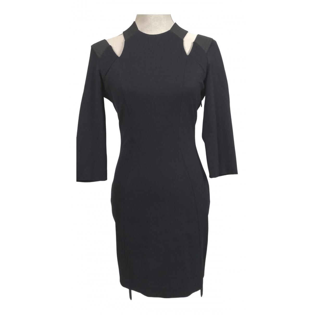 Imperial \N Kleid in  Schwarz Baumwolle - Elasthan
