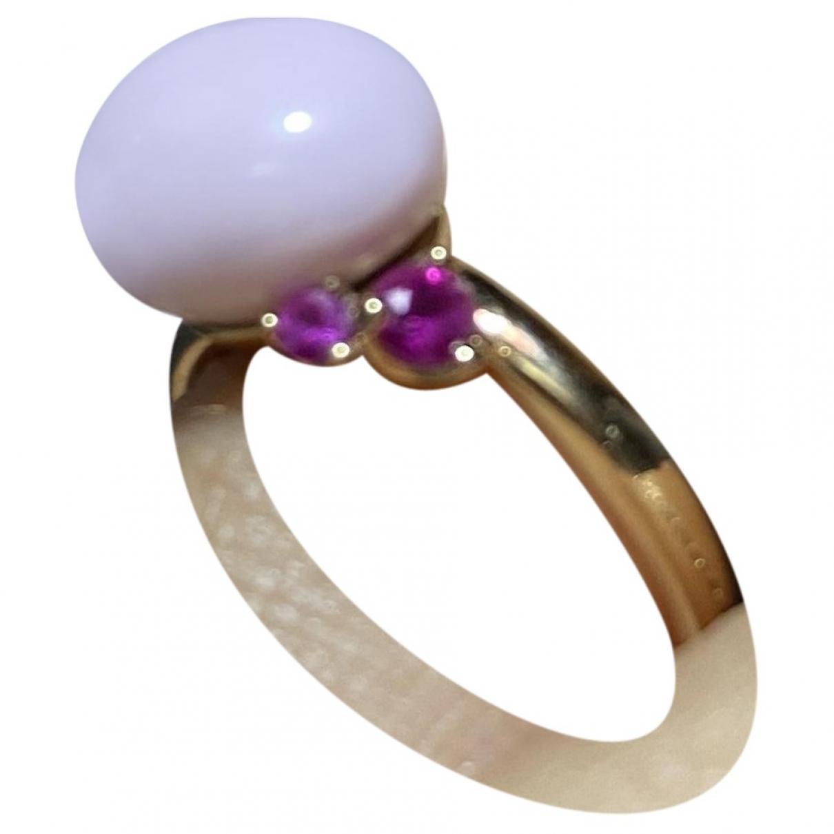 Pomellato Capri Ring in  Rosa Keramik