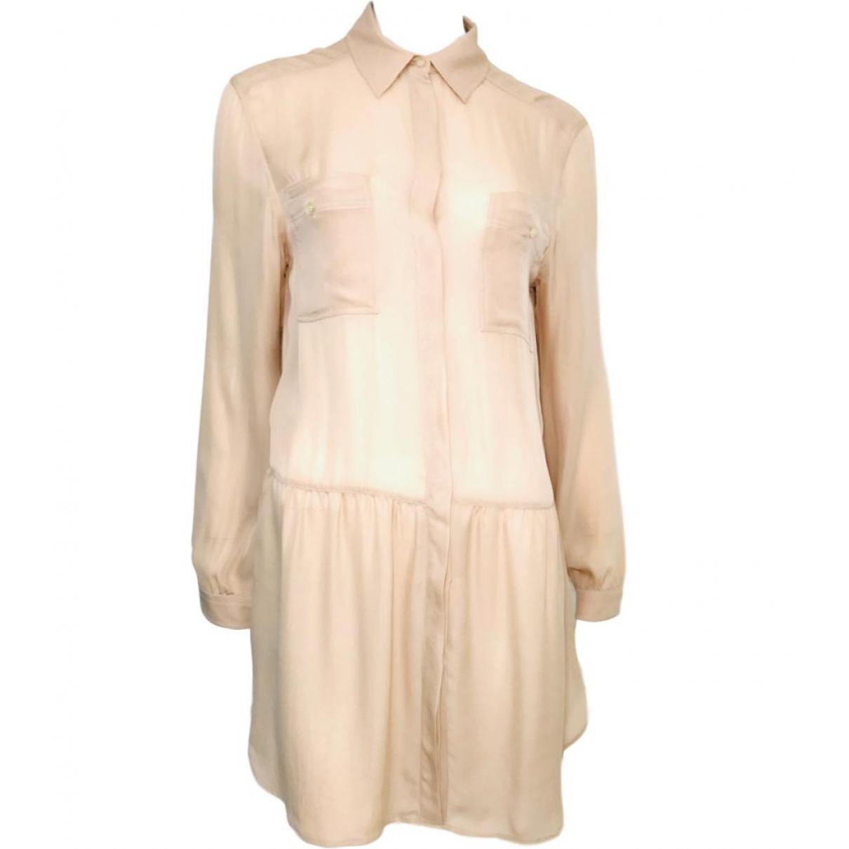 Dolce & Gabbana \N Kleid in  Beige Synthetik