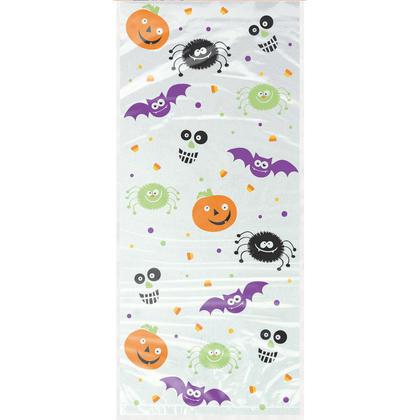 Spooky Smiles Cellophane Bags, 20ct