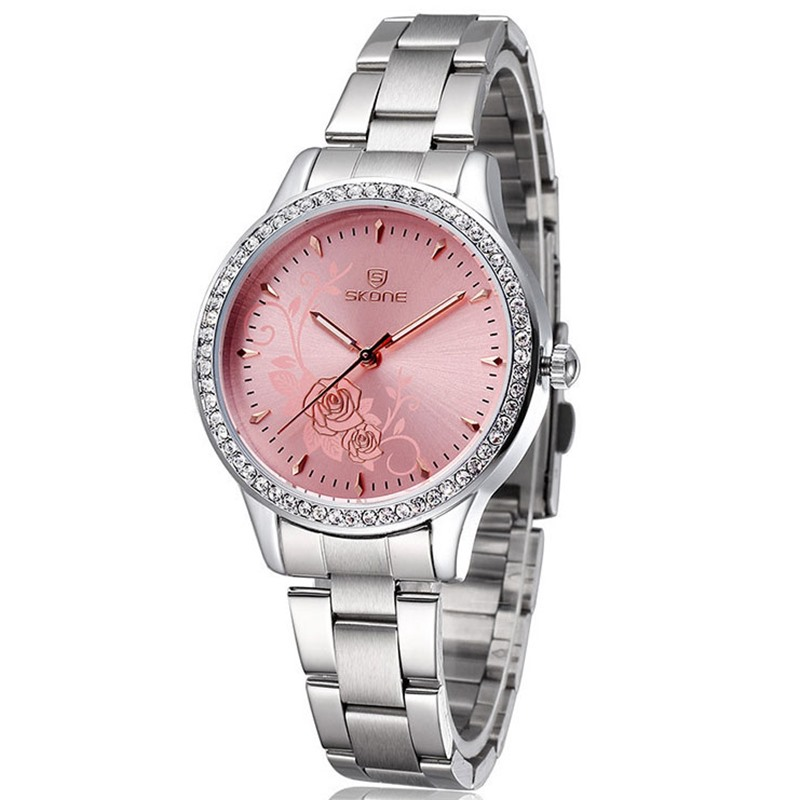Ericdress Carving Peony Business Watch For Ladies