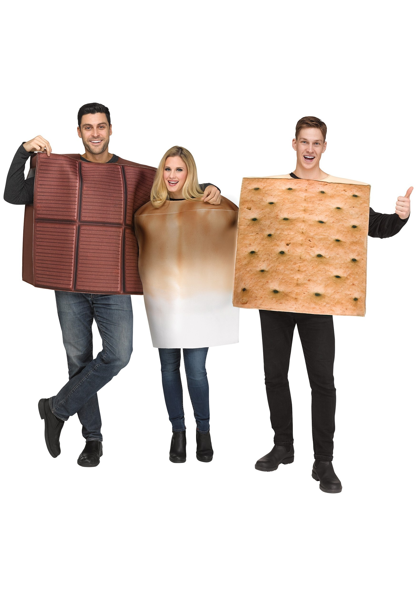 S'Mores Costume for Adults